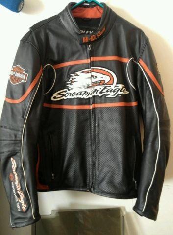 WANTEDMens Harley Davidson Leather Jacket Size M, L or XL