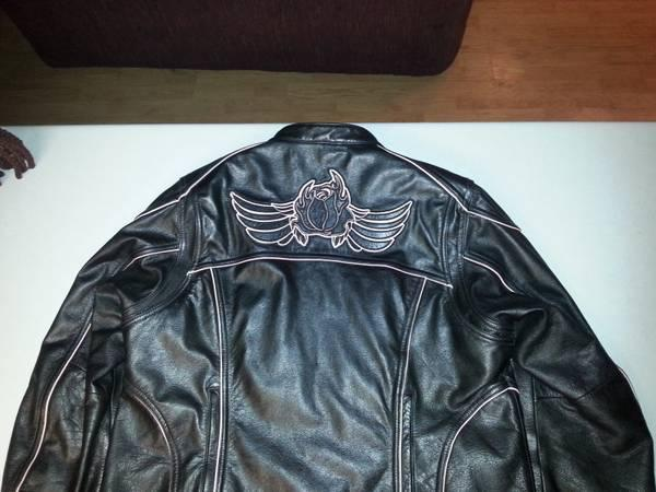 Harley Davidson leather jacket women - $300