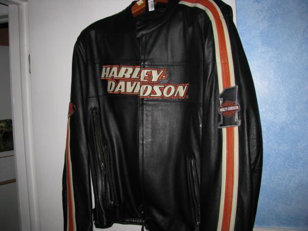 Harley Davidson Leather Racing Jacket for Sale in Farmington Hills