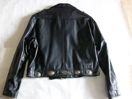 Harley Davidson Mans XXL Hacienda Leather Motorcycle Jacket