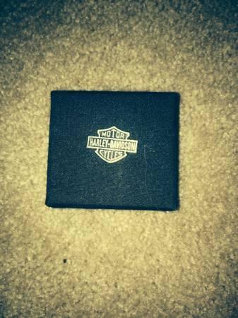 Harley Davidson Mens ring and belt buckle - $50