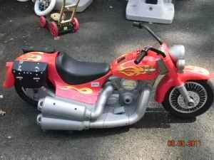 Fisher Price Harley Davidson Power Wheels Motorcycle Charger
