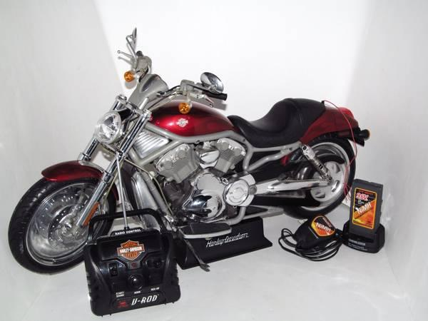 Harley Davidson V Rod 49 Mhz Rc Motorcycle W Battery