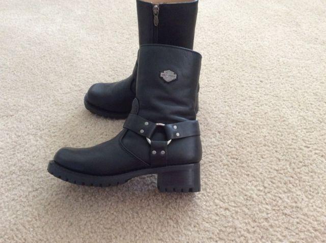 Harley Davidson Womens Harness Boots