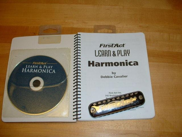 HARMONICA and Learn to play inst.