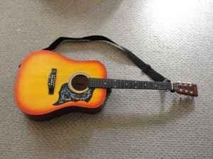 Harmony Acoustic Guitar - (Ashland) for Sale in Mansfield ...