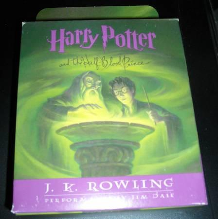 Harry Potter and the Half-Blood Prince 17 CD Audiobook