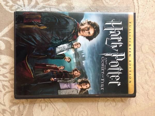 Harry Potter DVDs 1-4 for sale - $15