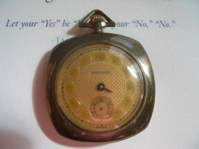 Harvard Antique Pocket Watch #20