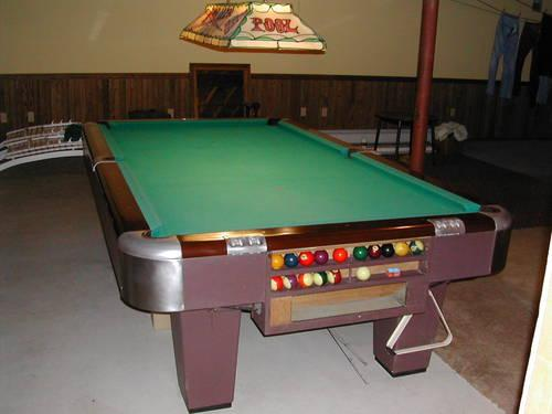 Harvard pool table 7 bar size gently used for sale in harvard pool table 7 bar size gently used watchthetrailerfo