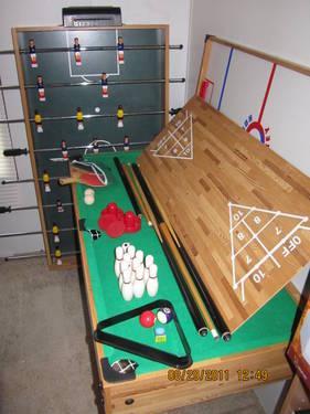 HARVARD SPORTS 7 IN 1 MULTI GAME TABLE
