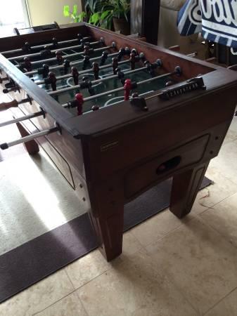 Captivating Harvard Wooden Foosball Table 275. Harvard Wooden Foosball Table For Sale  In Carmichael California