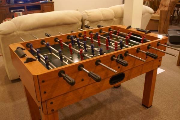 Harvard Foosball, Pool table - for Sale in Evansville ...