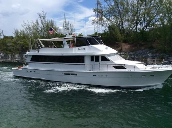 Hatteras 78 cockpit motor yacht for sale in dania florida for Hatteras motor yacht for sale