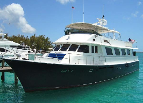 Hatteras aft deck motor yacht for sale in dania florida for Motor yachts for sale in florida