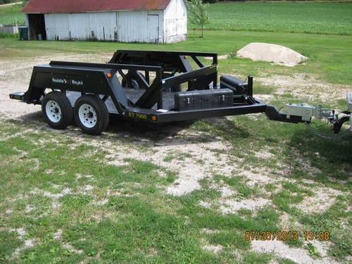 haulotte bil jax hydraulic lift trailer for sale in juneau