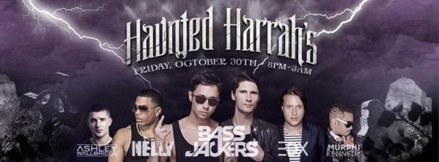 HAUNTED HARRAHS HALLOWEEN PARTY TICKETS
