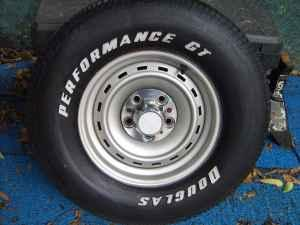 Have set of 2 chevy rims with tires. - $50 (Decatur)