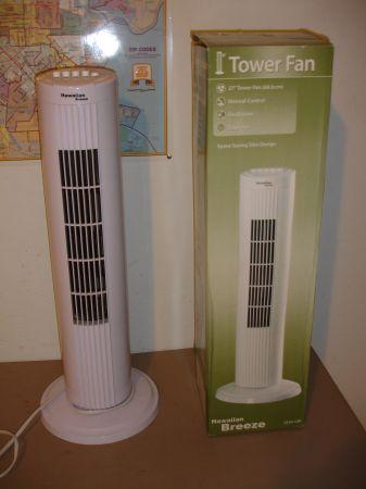Hawaiian Breeze 27 Oscillating Tower Fan