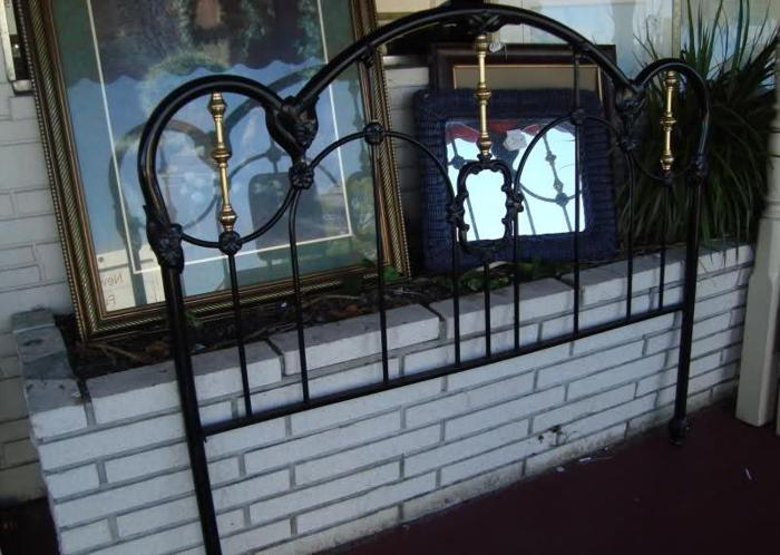 Headboard Queen Wrought Iron Br 145 Swift