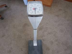 Healthometer Doctors Scales 300 Lbs Vintage Ceres For