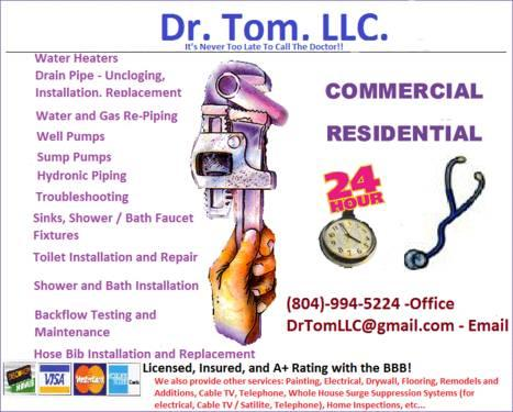 Heating, Cooling, Refrigeration & Plumbing