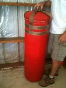 Heavy Bag For kick boxing or training - $50 Central Point