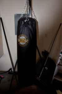 Heavy Bag with stand - $180
