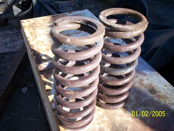 Heavy Coil springs for 4x4/Trailer or? - $30