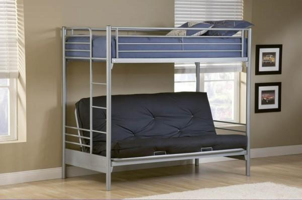 Heavy Duty Full Size Futon Bunk Bed