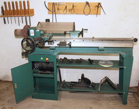 Heavy Duty Grizzly Wood Lathe wCopier and Tools