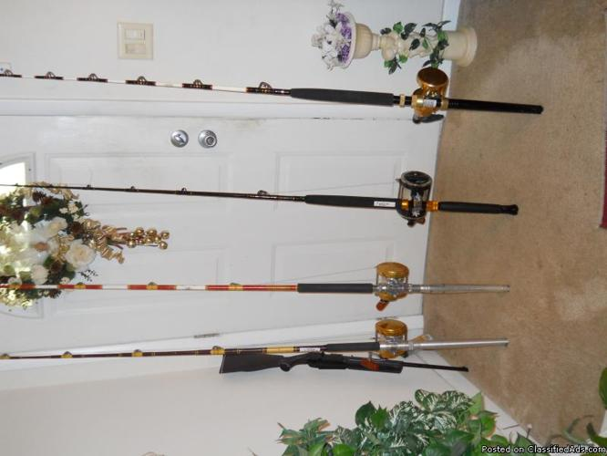 Heavy duty qcean fishing rods and reels priced riight for for Heavy duty fishing rods