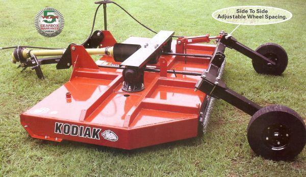 Heavy Duty Rotary Cutter 10 Foot Kodiak Farm Equipment