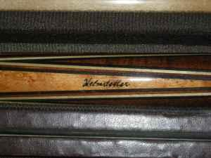 helmstetter vintage pool stick cue great condition nice