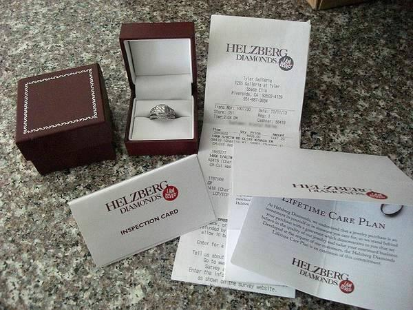 HELZBERG ENGAGEMENT RINGS   $1809