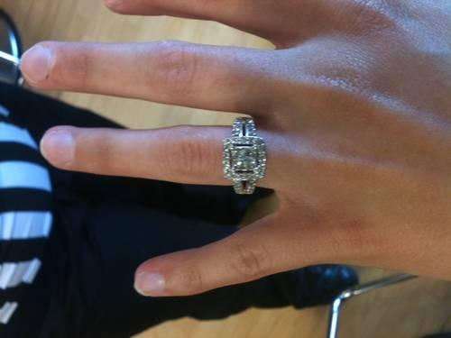 helzberg princess cut diamond engagement ring with life - Helzberg Wedding Rings
