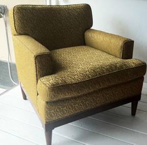 Henredon 2 CHAIRS Original Upholstery