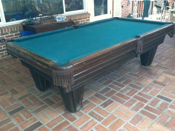 Heritage By Brunswick Pool Table   $1800 (Lakeland )