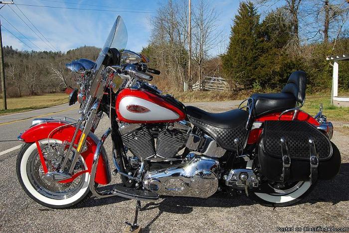 Heritage Springer 2002 Harley-Davidson Softail for Sale in ...