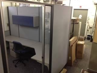 Herman Miller Floor To Ceiling Cubicles With Glass And