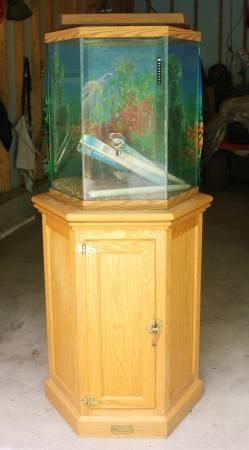 Hexagon aquarium fish tank for sale in alliance ohio for Hexagon fish tank