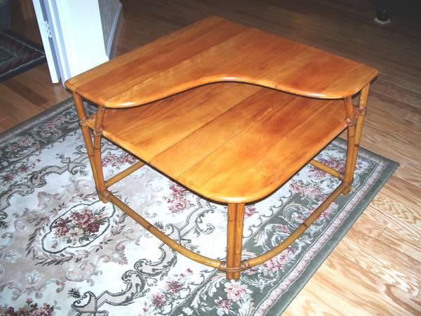 Heywood wakefield mid century table for sale in fort for Mid century furniture florida