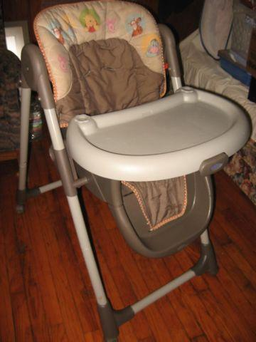 High Chair By Graco No Straps Winnie The Pooh For Sale