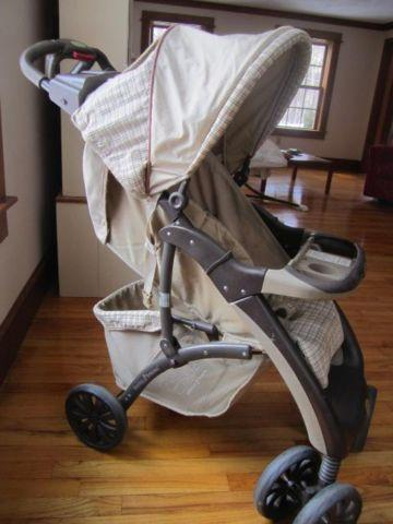 High Chair + Stroller~Good Condition