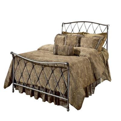 Hillsdale Furniture Silverton Brushed Silver Queen Size