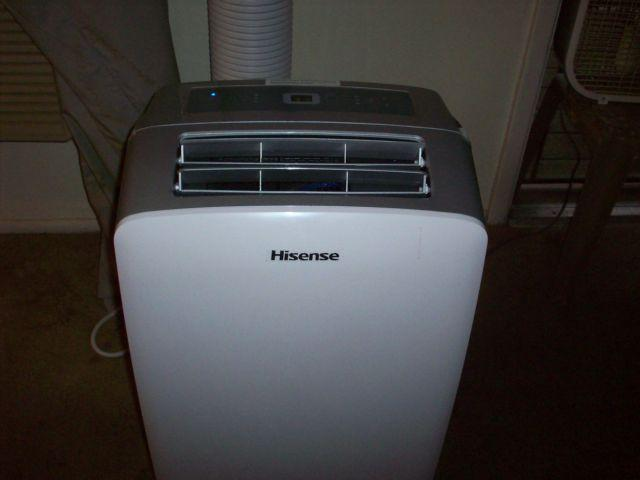 Hisense 10 000 Btu 450 Sq Ft 115 Volt Portable Air