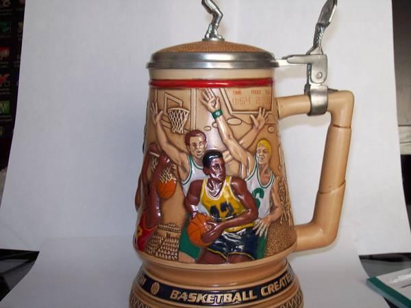 HISTORY OF BASKETBALL STEIN - $28