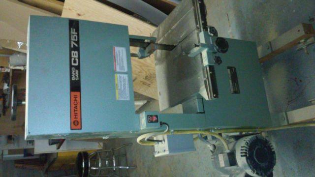 Hitachi 3 blade Bandsaw
