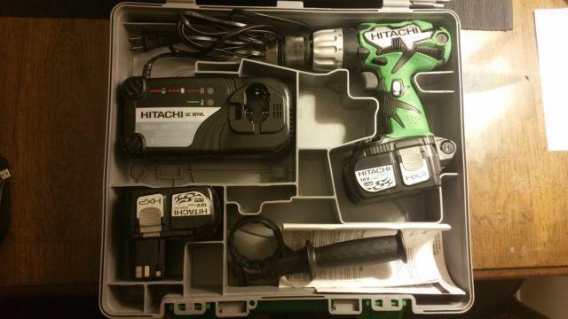 Hitachi DV18DL 18-volt Lithium-Ion 12-inch Cordless Hammer Drill