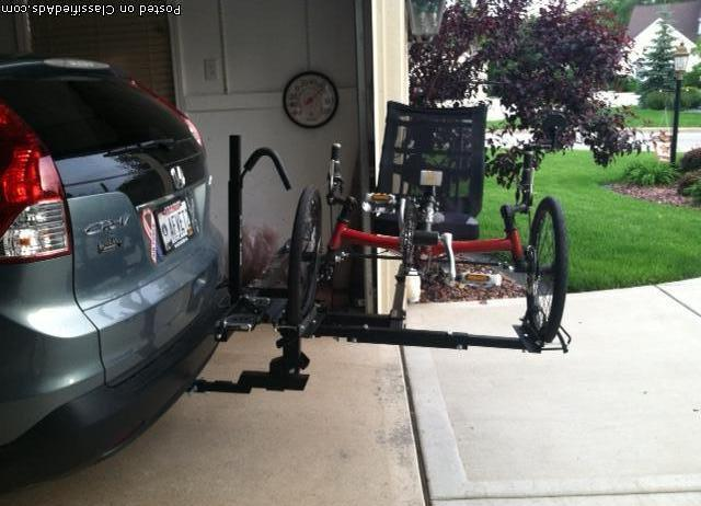 hitch rider trike bike rack for sale in hendersonville north carolina classified. Black Bedroom Furniture Sets. Home Design Ideas